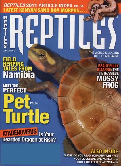 Reptiles Cover - 1/1/2012