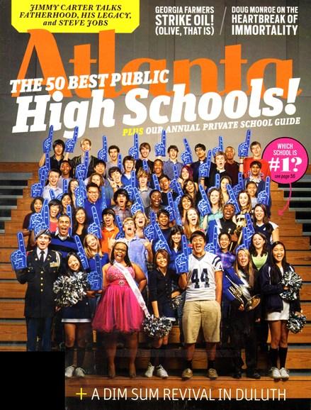 Atlanta Magazine Cover - 1/1/2012