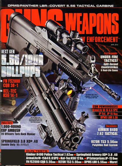Guns & Weapons For Law Enforcement Cover - 4/1/2012