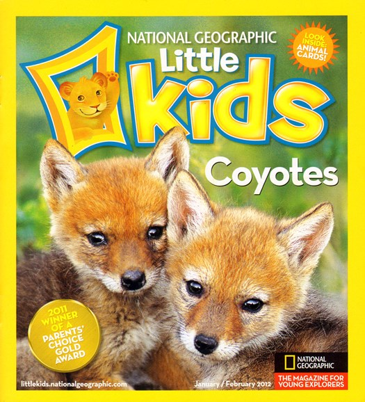 National Geographic Little Kids Cover - 1/1/2012