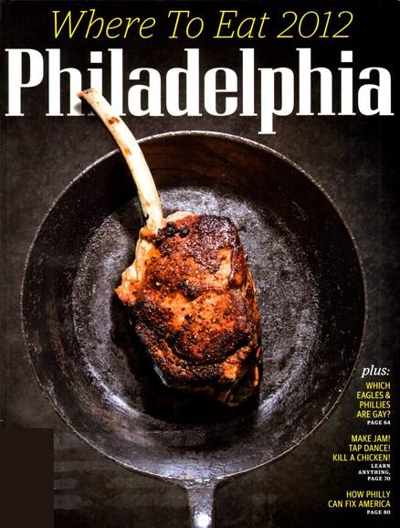 Philadelphia Magazine Cover - 1/1/2012
