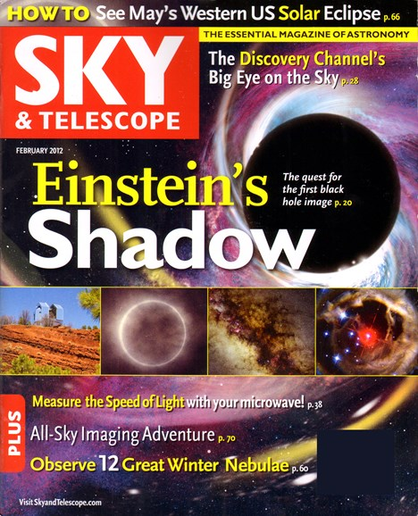 Sky & Telescope Cover - 2/1/2012