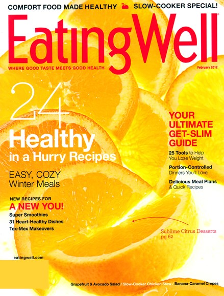 EatingWell Cover - 2/1/2012