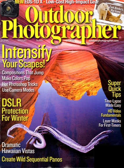 Outdoor Photographer Cover - 2/1/2012