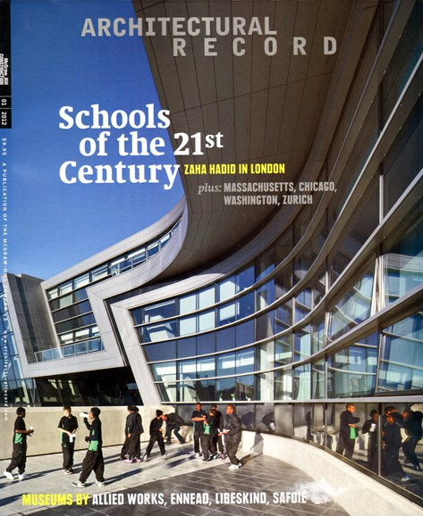 Architectural Record Cover - 1/1/2012
