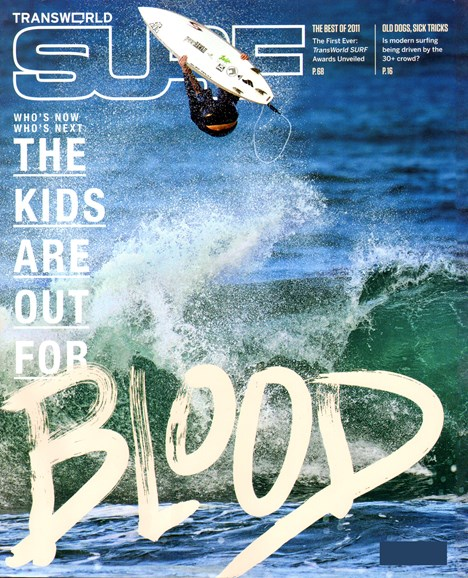 Transworld SURF Cover - 3/1/2012