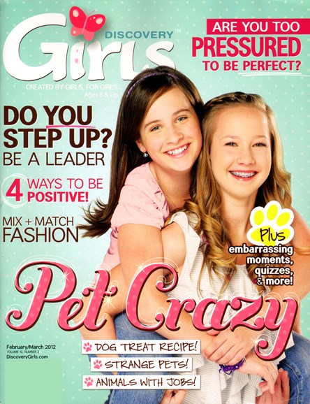 Discovery Girls Cover - 2/1/2012