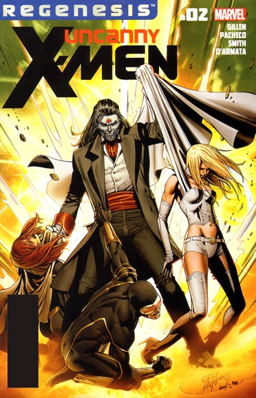 Astonishing X-Men Cover - 1/1/2012