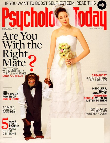 Psychology Today Cover - 2/1/2012