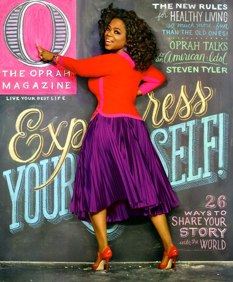 O The Oprah Cover - 2/1/2012