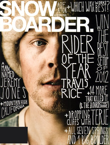 Snowboarder Cover - 2/1/2012