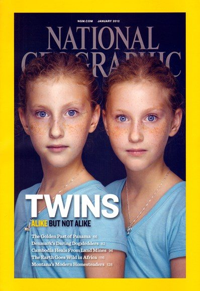 National Geographic Cover - 1/1/2012