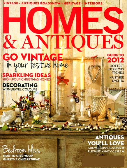 Homes & Antiques Cover - 1/1/2012