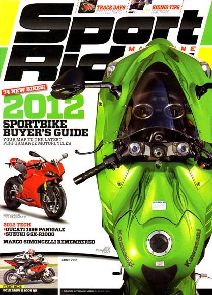 Sport Rider Cover - 3/1/2012