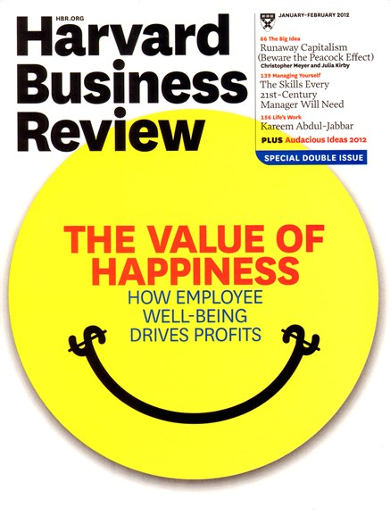 Harvard Business Review Cover - 1/1/2012