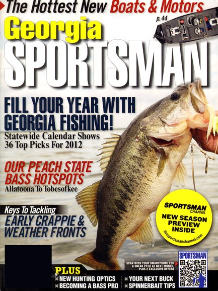 Georgia Sportsman Cover - 2/1/2012