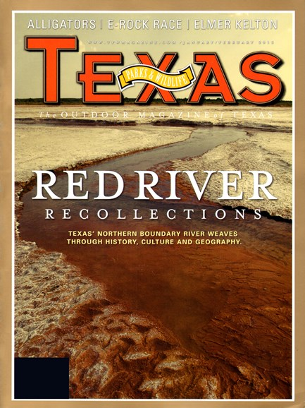 Texas Parks & Wildlife Cover - 2/1/2012