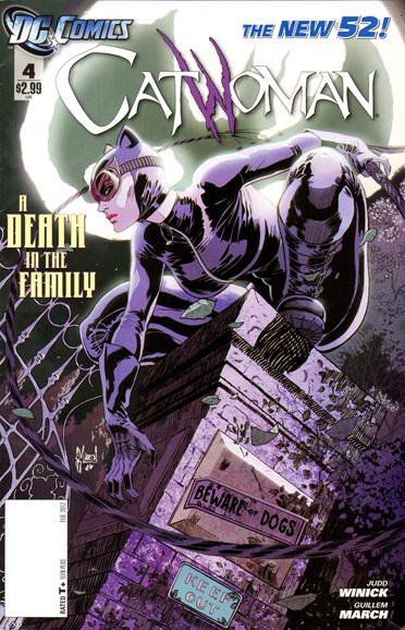 Catwoman Cover - 2/1/2012