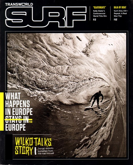 Transworld SURF Cover - 2/1/2012