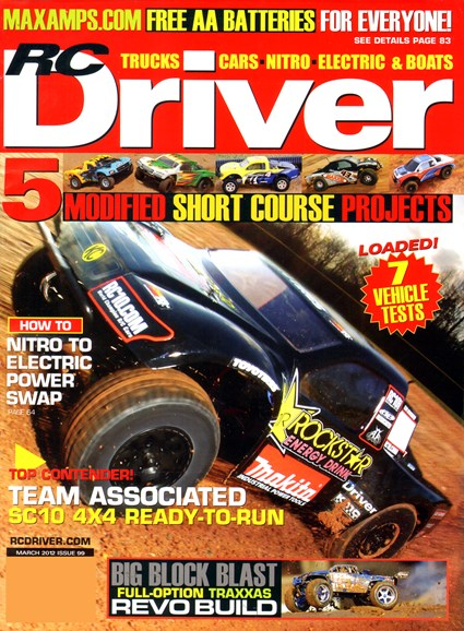 RC Driver Cover - 3/1/2012
