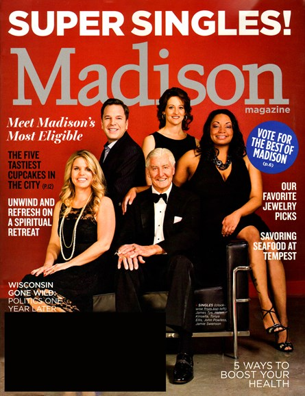 Madison Magazine Cover - 2/1/2012