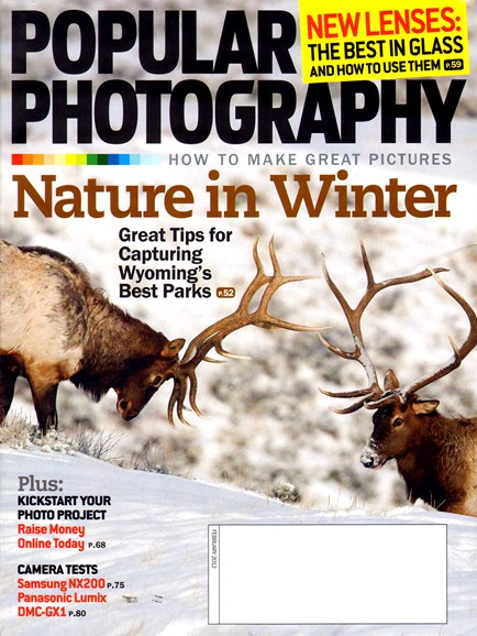 Popular Photography Cover - 2/1/2012