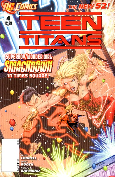 Teen Titans Cover - 2/1/2012
