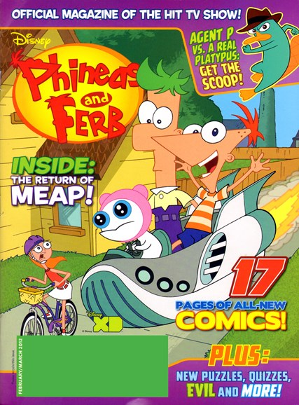 Disney Phineas & Ferb Cover - 2/1/2012