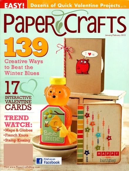 Paper Crafts Cover - 1/25/2012