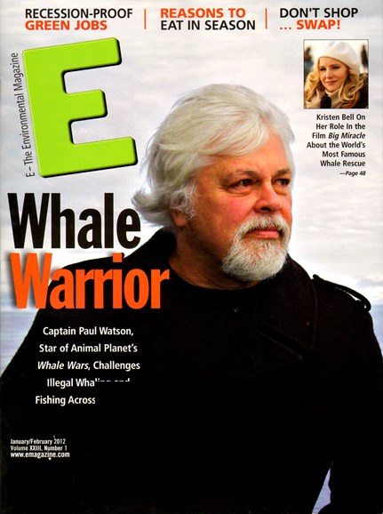 E: The Environment Magazine Cover - 1/1/2012