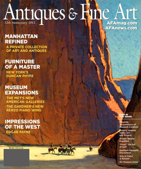 Antiques & Fine Art Cover - 1/1/2012