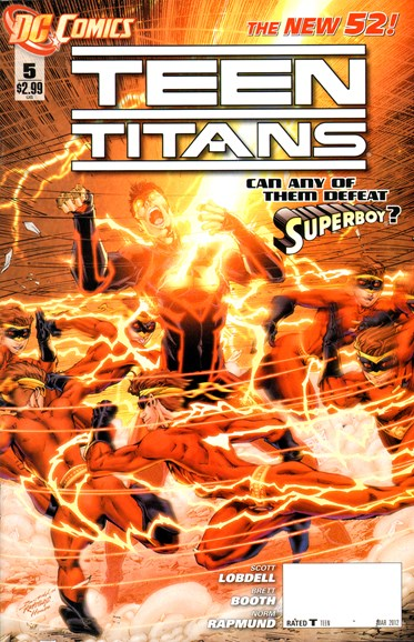 Teen Titans Cover - 3/1/2012