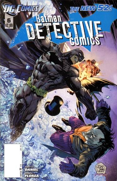 Detective Comics Cover - 4/1/2012