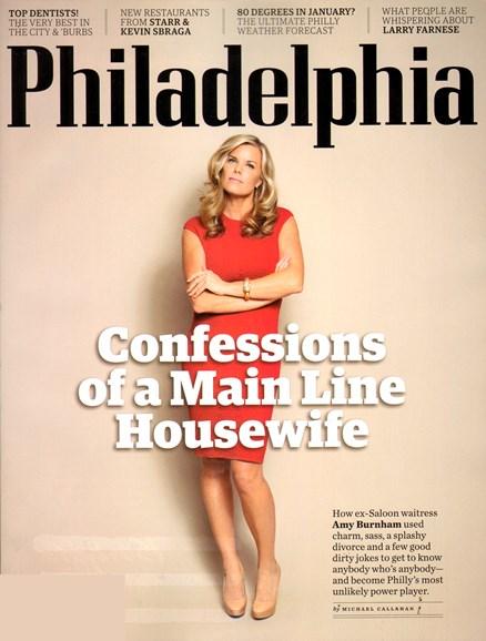 Philadelphia Magazine Cover - 2/1/2012