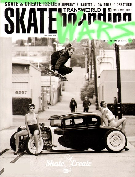 Transworld SKATEboarding Cover - 3/1/2012