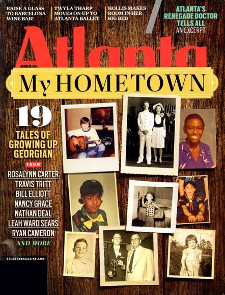 Atlanta Magazine Cover - 2/1/2012