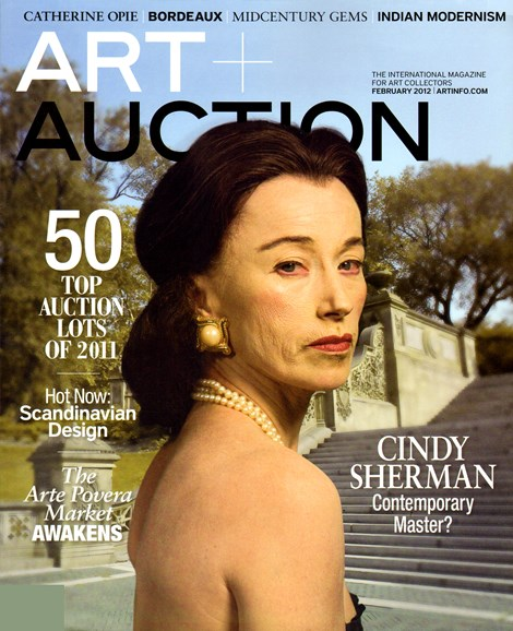 Blouin Art & Auction Cover - 2/1/2012