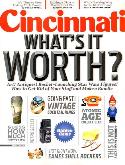 Cincinnati Cover - 2/1/2012