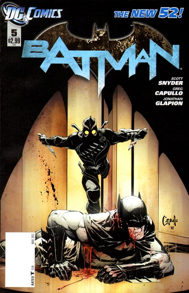 Batman Cover - 3/1/2012