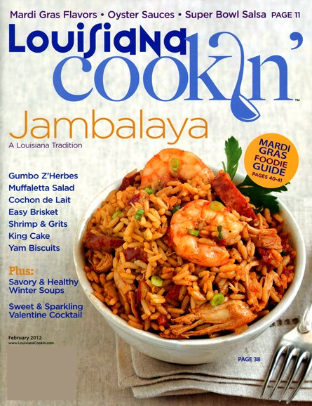 Louisiana Cookin' Cover - 2/1/2012