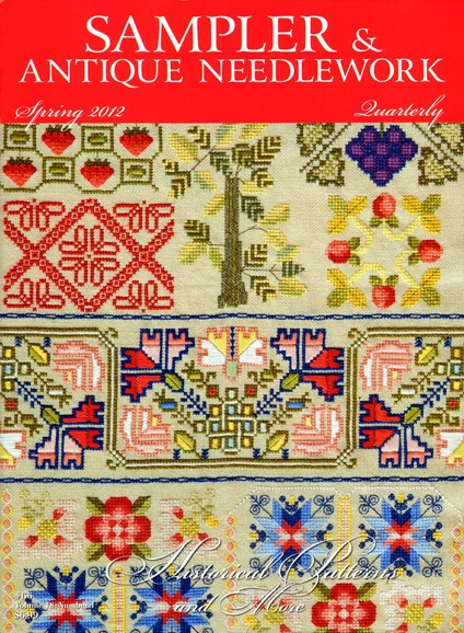 Sampler & Antique Needlework Qtry Magazine Cover - 3/1/2012
