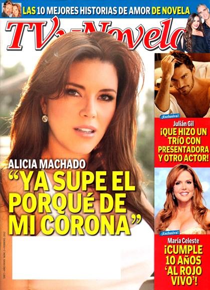 Tv Y Novelas Cover - 2/1/2012