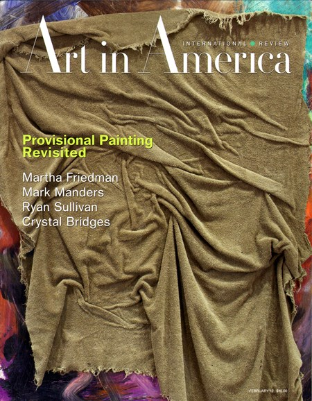 Art In America Cover - 2/1/2012