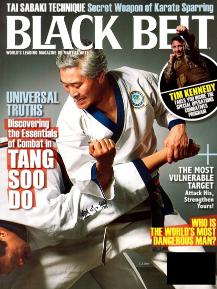 Black Belt Magazine Cover - 3/1/2012