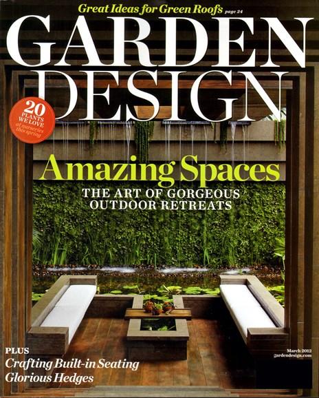 Garden Design Cover - 3/1/2012