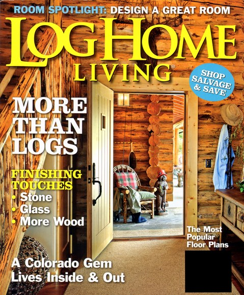 Log Home Living Cover - 3/1/2012