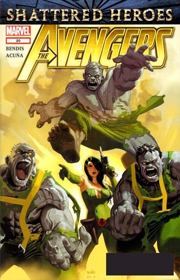 Avengers Cover - 2/1/2012
