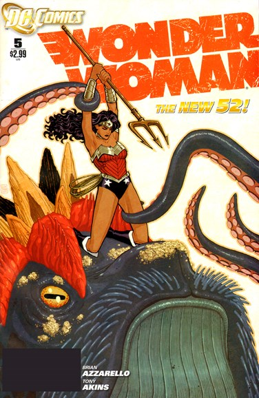 Wonder Woman Cover - 3/1/2012
