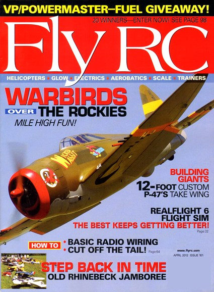 Fly RC Cover - 4/1/2012