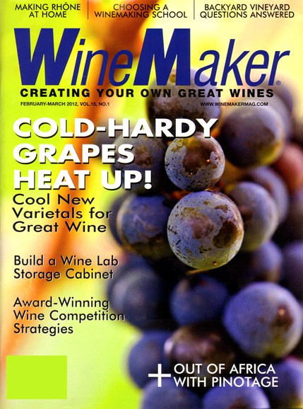 Winemaker Cover - 2/1/2012